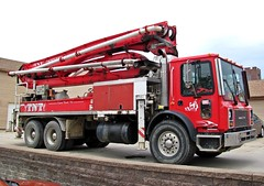 Mack MC Concrete Pumper Truck (TrueWolverine87) Tags: truck semi mack semitruck pumper hauler pumpertruck mackmc