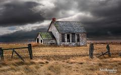 Prairie Education (Pat Kavanagh) Tags: canada abandoned farm alberta homestead prairie schoolhouse prairies