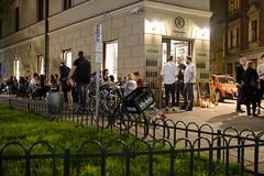 Kazimierz (Jacek Dylag) Tags: street old city people night pub poland krakow cracow kazimierz cracovia mostowa konfrat barawino