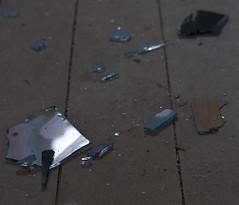 Broken (Chris Utrecht) Tags: blue broken glass utrecht blauw glas scherven kapot
