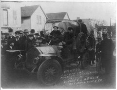 1908. Protos German car New York to Paris race (foot-passenger) Tags: 1908 newyorkparis race protos germancar greatrace       libraryofcongress loc