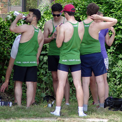 Queens' (MalB) Tags: cambridge pentax cam queens rowing m4 lycra k5 rowers mays 2016 maybumps
