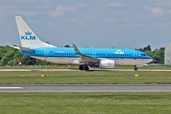 "PH-BGN Boeing 737-7K2 KLM Named Jan van Gent / Gannet MAN 03-06-16 (PlanecrazyUK) Tags: man manchester klm 030616 ringway egcc airport"" boeing7377k2 ""manchester phbgn"