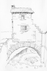 June 03 2016: Bridge House, Ambleside, Cumbria