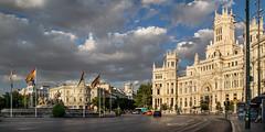 Plaza de la Cibeles - Madrid 2015 (Heranv) Tags: madrid fuente cibeles palacio