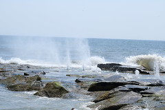 sea spray at Ocean Grove (acereporter73) Tags: beach shore oceangrove