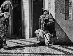 Street Artist plays for everyone (zilverbat.) Tags: malta streetphotography image innercity streetlife streetcandid streetshot canon city blackandwhite blackwhitephotos mono straatfotografie straatfotograaf streetscene straatportret people portrait portret photography peopleinthecity blackwhite urbanlife urbanvibes music live woman bookcover valletta streets magazine structure dramatic vibes rapportage world magnum poverty accordeon newspaper dress timelife