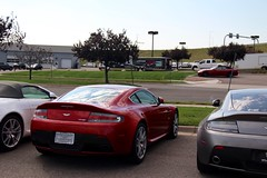 Red (Ethan Boelkins) Tags: red supercar astonmartin sportscar v8vantage