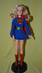 Vintage Ideal Supergirl (trev2005) Tags: vintage ideal supergirl super queens comic heroines action figure misty posin queen comicheroines captainaction dccomics idealmisty posing doll actionfigure