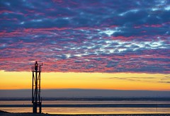 Early morning at the North Sea (MaiGoede) Tags: landscape nikon earlymorning northsea hafen landschaft nordsee beforesunrise niedersachsen ammeer wesermarsch nordseeküste fedderwardersiel wesermündung