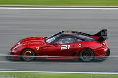 Ferrari 599XX Evoluzione (belgian.motorsport) Tags: corse xx ferrari brakes glowing brake 2012 clienti spafrancorchamps 599 fxx evoluzione 599xx