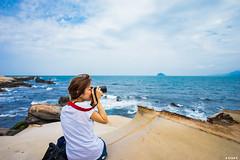 北海岸 (Xiun.Lee) Tags: portrait 北海岸 sony taiwan taipei 台灣 台北 a7 人像 美女 sal20f28 喵比比