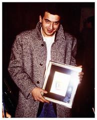 1986 - Carlo Serafini all'inaugurazione della 1° fiera campionaria di Ravenna
