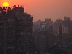 Sunset, Cairo!