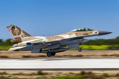 Skull 530, Panning Away...  Nir Ben-Yosef (xnir) (xnir) Tags: israel israeliairforce iaf aviation idf air force aircraft outdoor defence   israelairforce flight generaldynamics lockheedmartin f16 fightingfalcon falcon viper