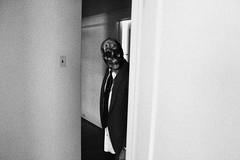 (Bart D. Frescura) Tags: blackandwhite selfportrait skull gritty creepy cinematic lightandshadow skullmask creepcity bartdfrescura