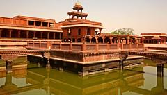 Fatehpur Sikri Palace 122 (David OMalley) Tags: india muslim islam agra palace mosque pilgrimage akbar masjid allah islamic pradesh fatehpur sikri muhammed uttar jama darwaza buland sikari vijaypur