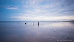 Just a touch... (Gill_R) Tags: longexposure sunset beach coast norfolk shoreline shore brancaster eveining