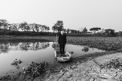 View of waiting (Phanuphong Thepnin) Tags: blackandwhite man art love nature skinny waiting view contemporary space fine memory concept conceptual