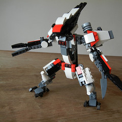 DSCN6707 (alfa145q_lego) Tags: lego legocreator vehicletransporter 31033 alternate futureflyers 31034 mecha rebuild