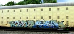 lies - seyoe (timetomakethepasta) Tags: rtd by lies seyoe gime suite asic bozo gets token shoop freight train graffiti aok autorack