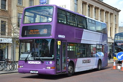 First Norwich 32201 LT52WTF (Will Swain) Tags: norwich 14th may 2016 south east norfolk city centre bus buses transport travel uk britain vehicle vehicles county country england english london first 32201 lt52wtf