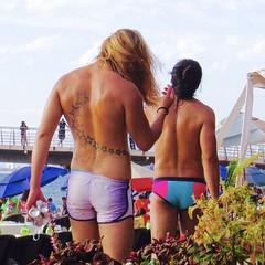 IMG_2129 (danimaniacs) Tags: shirtless man hot sexy guy tattoo mexico back puertovallarta trunks speedo bathingsuit stud lycra