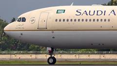 Saudi Arabian Airbus A330-300 HZ-AQH Kochi (COK:VOCI) (Aiel) Tags: saudiarabian airbus a330 a330300 hzaqh canon60d tamron70300vc kochi cochin alwaye aluva