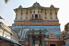 Tanjore - le palais du rajah (Chemose) Tags: india museum architecture canon eos january palace 7d palais thanjavur janvier rajah tamilnadu inde southindia tanjore indedusud saraswatimahal