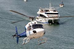 CFR1133 AS-355F-2 EC-JYJ (Carlos F1) Tags: nikon d300 lepb helipuerto heliport transporte transport aviación aviation helicoptero helicopter spotter spotting ecjyj aerospatiale as355f2 ecureuil cathelicopters barcelona spain boat barco golondrinas mar sea mediterraneo rotorcraft