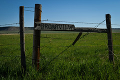 For Those Who Lose Their Way... (cutthroatsrule) Tags: wood sign montana prairie broadview
