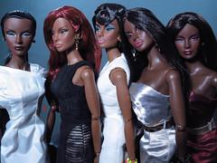 Single File (#BringBackJordan) (FashionDragon) Tags: toys designer jordan africanamerican fashiondoll platinum splendid integrity bionica designerdoll blackbarbie jasonwu fashionroyalty firewithin bobmackie byronlars stephenburrows trustyourinstincts vaughnsawyers