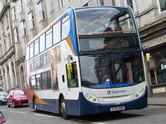 19378 - SV58 BND (Cammies Transport Photography) Tags: street bus square coach market union aberdeen 400 bluebird alexander dennis stagecoach bnd enviro 7c 19378 sv58 sv58bnd