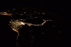 Lights along the Nile (Tim Peake) Tags: egypt nile cairo