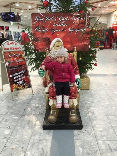 Santas lap