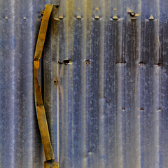 unseamly slit (MyArtistSoul) Tags: ventura ca thompsonjunipero abandoned building exterior corrugated galvanized steel walls rusty seam cover parallel lines simple urban minimal abstract square 0446 partofthetopatopabeerseries