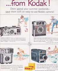 Kodak 1963 (moogirl2) Tags: vintage 60s kodak retro 1963 vintageads vintagecameras vintagetechnology 60sads