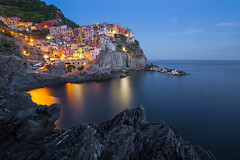 Manarola by night (Edouard Durieux) Tags: manarola cinque terre night long exposure