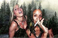 (julieannesjones) Tags: hilarious spontaneous drunk nights fun party iphone6s iphoneedit colorphotography doubleexposure drinking summer girls