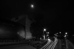 THEATRE DE L'ARCHIPEL  PERPIGNAN (Foomm []) Tags: night caracteristiquesdelaphoto where fotomatom 66 pyrnesorientales rue street streetphotography city urban cityscape black white blackandwhite noiretblanc noir blanc monochrome reportage documentary longexposure expositionlongue longexposurephotography sky landscape fe1635mmf4 sony ilce7m2 a7ii alpha7ii femount zeiss variotessar catalogne catalunya catalonia pyrenees pyreneesorientales france perpignan