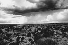 sandia bleak ii (Eric Baggett) Tags: newmexico albuquerque sandiamountains sandiamountainview stark highcontrast desert bnw blackandwhite blackandwhitelandscape sonya7rii vast expansive solitude love distantstorm storm thunderstorm weather sky clouds noiretblanc
