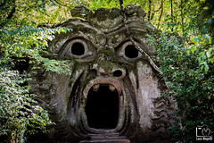 Monster (Luca_Mapelli) Tags: photo by luca mapelli mostro monster parco dei mostri bomarzo viterbo natura nature maya bocca della verit horses mouth truth paura fear spaventoso frightening scary pauroso mostruoso monstrous ogni pensiero vola every thought flies