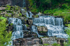 Tor Magnus Anfinsen-000171 (Tor Magnus Anfinsen) Tags: waterfall bergen norge norway blue green rock trees