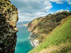 Madeira (K r y s) Tags: blue sky tourism portugal topf25 coast spring skies coastal pt madeira printemps archipelago tourisme 2015 caniço madère