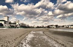 Patches (floralgal) Tags: winter seascape beach landscape win dramaticsky longislandsound dramaticclouds ryenewyork westchestercountynewyork oaklandbeachryenewyork playlandparkryenewyork winterinryenewyork