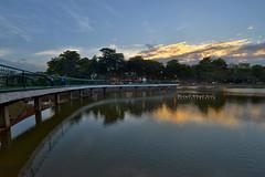 Taman Seri Alam Sunset (Shamsul Hidayat Omar) Tags: sunset lake tourism photography high interesting nikon scenery dynamic places scene malaysia omar range hdr taman baru johor pasir alam tasik seri bandar gudang hidayat greatphotographers shamsul baharu photoengine oloneo d800e
