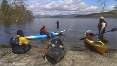 Take a Break (Nicolas Valentin) Tags: light sky lake snow stone landscape freedom scotland fishing scenery aqua kayak alba scenic adventure kayaking l flyfishing loch lomond lochlomond kayakfishing aplusphoto kayakpike kayakscotland kayakfishingscotland