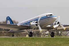 PH-PBA | KLM Collection | DC-3 Dakota (Andy Crossley - Apronmedia.com) Tags: vintage airplane airport tour bradford aircraft leeds landing klm dc3 runway dakota crossley lba egnm phpba apronmedia