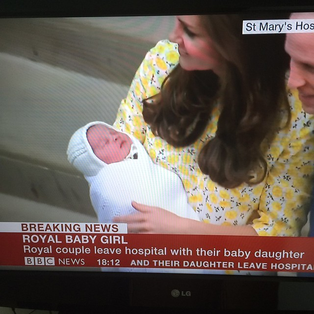 2 May 2015 - our newest Princess!