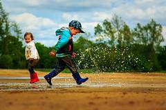 Fun Mud Run (Michael Angelo 77) Tags: fun mud splash toddlers splashingwater